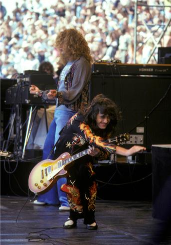 Led Zeppelin The Last Two U S Shows July 23rd And 24th 1977 The Modicum